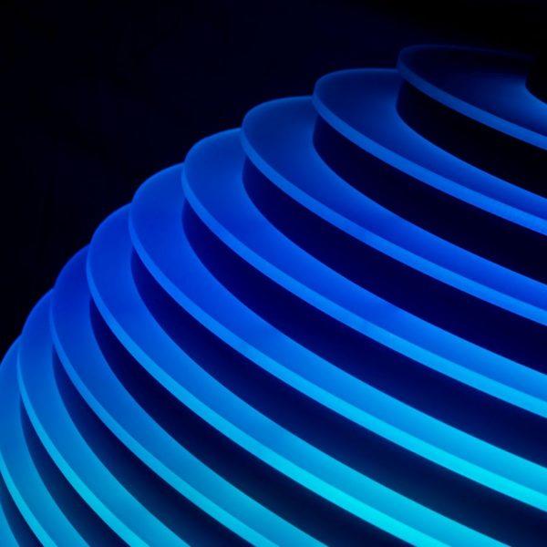 LED reception desk