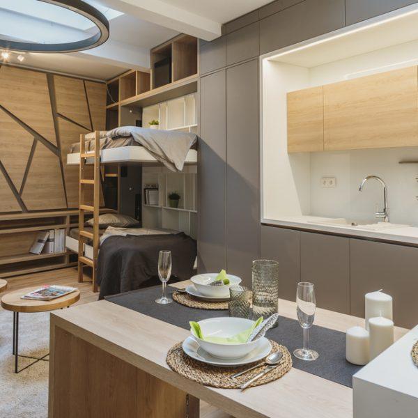 Mini flat on 27 m²
