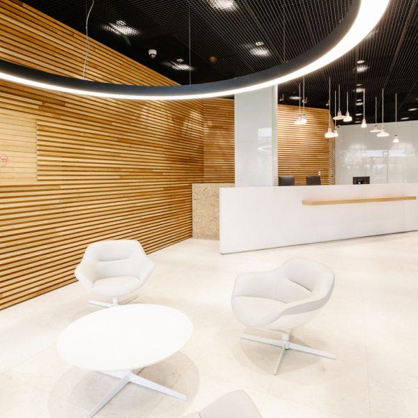 Foyer SAP in Metronom office center Prague