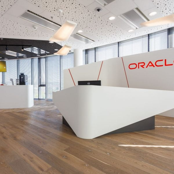 Atypical furniture in Oracle offices