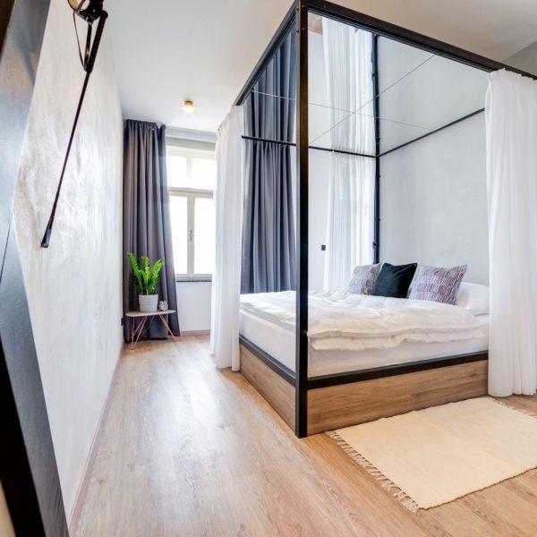 Prison-style apartments