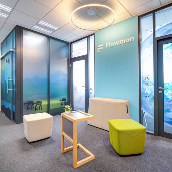 Office fit-out at Flowmon company